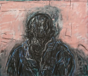 David Fairbairn, Large Head DG No.3, 2010, 172 x 198cm