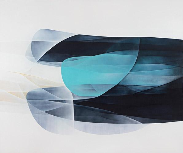 Agneta Ekholm Slipstream 2015 acrylic on canvas 160cm x 190cm