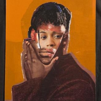 """Rodríguez Calero, La Mascara, 2007, 10 1⁄2""""x 7 7⁄8"""""""