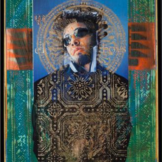 """Rodríguez Calero, Santos, 1999, 20""""x 16"""""""