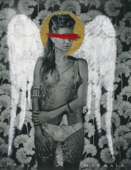 Greg Semu, Mary of Magdala, 2014 Alcaston Gallery