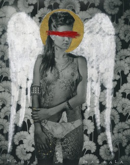 Greg Semu, Mary of Magdala, 2014 Alcaston Gallery