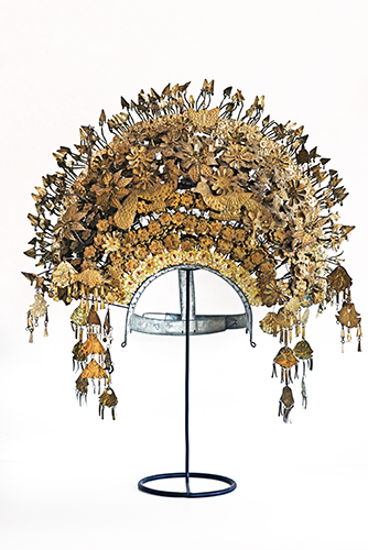 VINTAGE INDONESIAN WEDDING HEADDRESS (BRIDE)