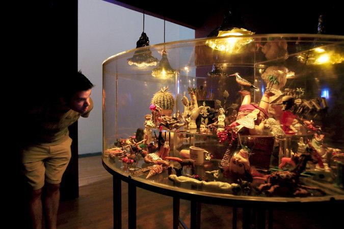 "Mithu Sen's ""Museum of Unbelonging II"" (2015). Credit Hiroko Masuike/The New York Times"